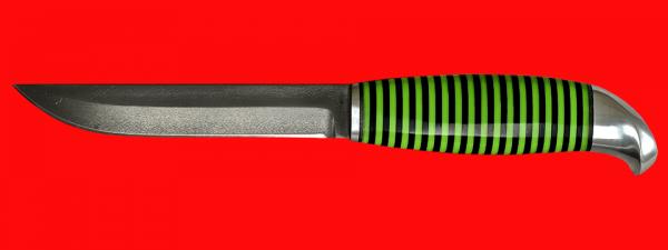 Финка 005, клинок кованый сталь Х12МФ, рукоять наборный пластик