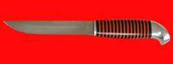 Финка 003, клинок кованый сталь 95Х18, рукоять наборный пластик