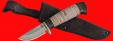 """Охотничий нож """"Воробей"""", клинок порошковая сталь ELMAX, рукоять береста"""