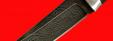 """Охотничий нож """"Шведский охотничий №1"""", клинок дамасская сталь, рукоять венге, деревянный чехол"""