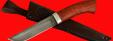 """Охотничий нож """"Олень"""", клинок дамасская сталь, рукоять падук"""