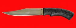 Нож Беркут, клинок сталь 95Х18, рукоять пластмасса (цвет черный)