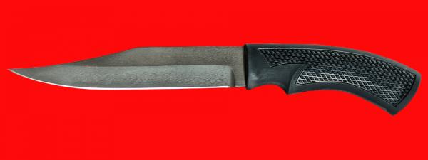 """Нож """"Беркут"""", клинок сталь Х12МФ, рукоять пластмасса (цвет черный)"""