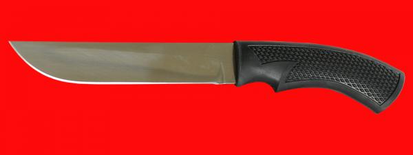 """Нож """"Грибник-5"""", клинок сталь 65Х13, рукоять пластмасса (цвет черный)"""