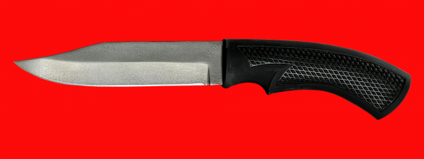 """Нож """"Беркут-3"""", клинок сталь Х12МФ, рукоять пластмасса (цвет черный)"""