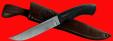 """Нож """"Советский охотничий"""", клинок сталь Х12МФ, рукоять пластмасса (цвет черный)"""
