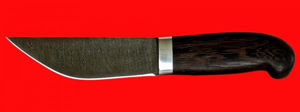 """Нож """"Алтайский-2"""", клинок дамасская сталь, рукоять венге"""