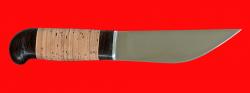 Нож Алтайский-2, клинок сталь 95Х18, рукоять береста