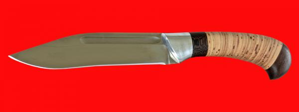 "Нож ""Пиха-Каеттаа"", клинок сталь 95Х18, рукоять береста"