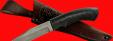"""Нож """"Крепыш-2"""", клинок сталь Х12МФ, рукоять пластмасса (цвет черный)"""