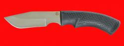 Нож Охотничий-2, клинок сталь 95Х18, рукоять пластмасса (цвет черный)