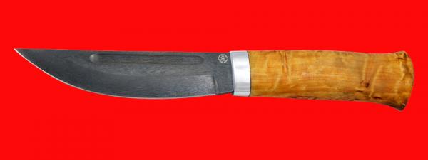 """Нож """"Таймыр"""", клинок сталь D2, рукоять карельская берёза"""