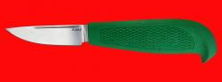 """Нож """"Финка малая"""", клинок порошковая сталь ELMAX, рукоять пластмасса (цвет зелёный)"""