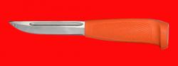 Финка-041, клинок сталь 95Х18, рукоять пластмасса (цвет оранжевый)