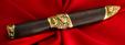 """Авторский нож """"Рыбацкий"""", клинок порошковая сталь ELMAX, рукоять венге, латунь"""