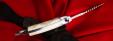 """Нож тактический """"Берсерк"""", цельнометаллический, клинок сталь 65Х13, рукоять пластик (белый)"""