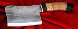 """Нож """"Тяпка малая"""", клинок сталь У8, рукоять береста"""