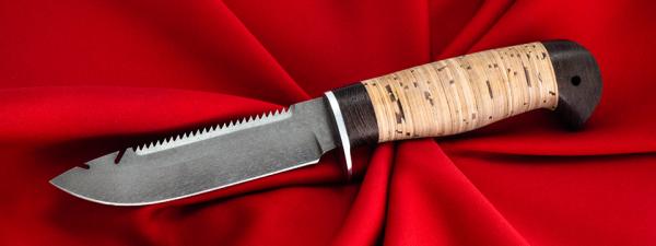 "Нож ""Рыбацкий-3"", клинок сталь Х12МФ, рукоять береста"