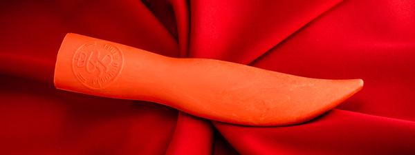 Чехол-ножны из резинопластика финского типа №1 (цвет оранжевый)