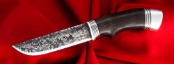 Охотничий нож Грибник ручная ковка, клинок сталь У8, рукоять венге (вариант №1)