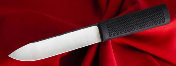 """Нож """"Алтайский-МС"""", клинок сталь 95Х18, рукоять резинопластик (цвет черный)"""