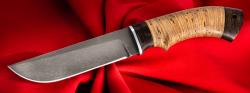 Нож Боровик, клинок сталь Х12МФ, рукоять береста