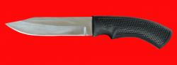 """Нож """"Беркут-2"""", клинок сталь 65Х13, рукоять пластмасса (цвет черный)"""