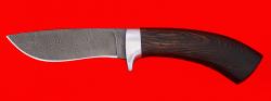 """Охотничий нож """"Фазан"""", клинок дамасская сталь, рукоять венге"""