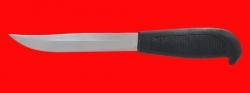 """Нож """"Финка-105"""", клинок сталь 95Х18, рукоять резинопластик, (цвет чёрный)"""