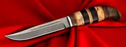 Финка Ф-006, клинок сталь Х12МФ, рукоять наборное дерево
