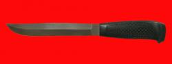 Финка Ромб-3, клинок сталь Х12МФ, рукоять резинопластик (цвет чёрный)
