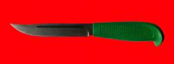 """Нож """"Финка-103"""", клинок сталь Х12МФ, рукоять резинопластик (цвет зелёный)"""