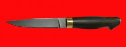 Финка Карельский фронт (Фирс-2), клинок кованый сталь Х12МФ, рукоять венге, латунь