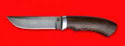 """Охотничий нож """"Грибник"""", клинок сталь D2, рукоять венге"""