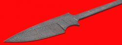 """Клинок для ножа """"Атаман"""", клинок дамасская сталь"""