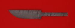 """Клинок для ножа """"Грибник малый"""", дамасская сталь"""