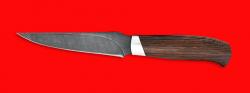 """Нож """"Колыма"""", клинок дамасская сталь, рукоять венге"""