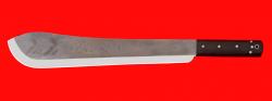 """Нож """"Мачете-2"""", цельнометаллический, клинок сталь У8 кованая, рукоять венге"""