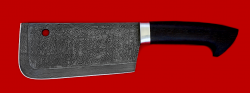 """Нож """"Тяпка мясницкая"""", клинок дамасская сталь, рукоять венге"""